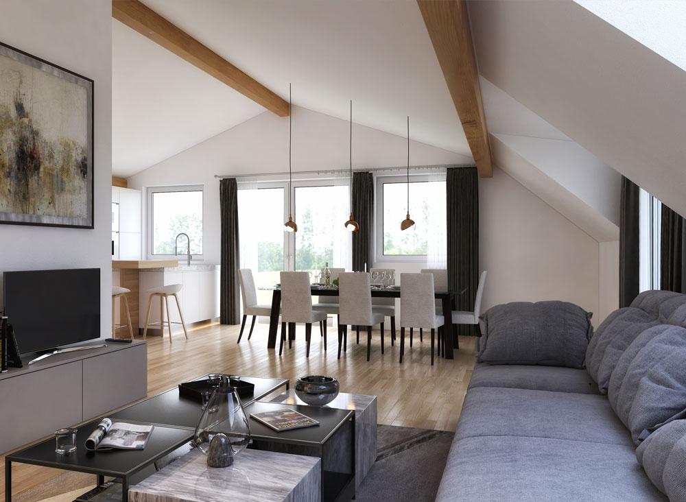 4 zimmer dachgescho wohnung in salzburg immobilien for Wohnung design