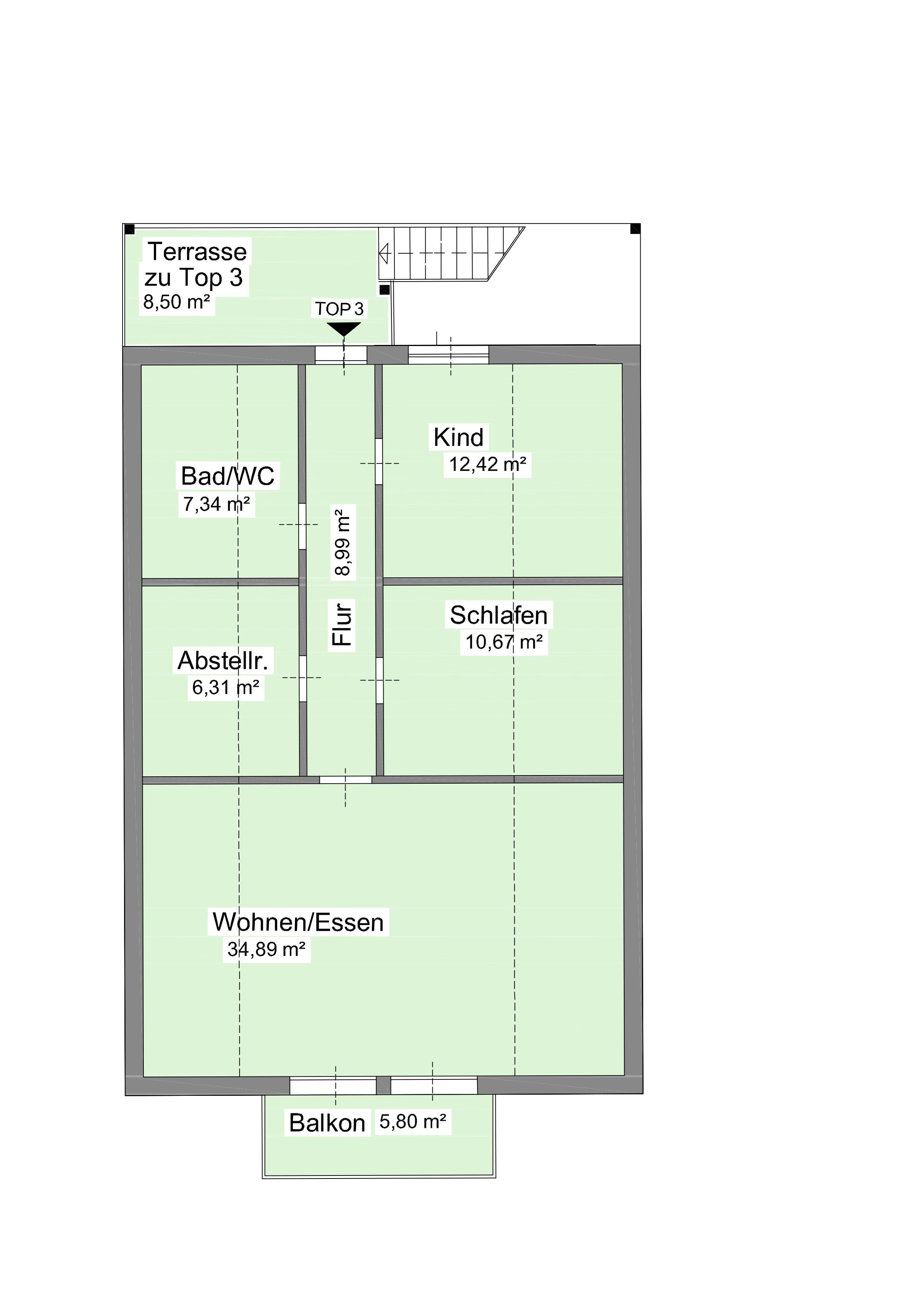 gro gmain wohnung 2 balkone ca 80 m immobilen sch dinger salzburgimmobilen sch dinger. Black Bedroom Furniture Sets. Home Design Ideas