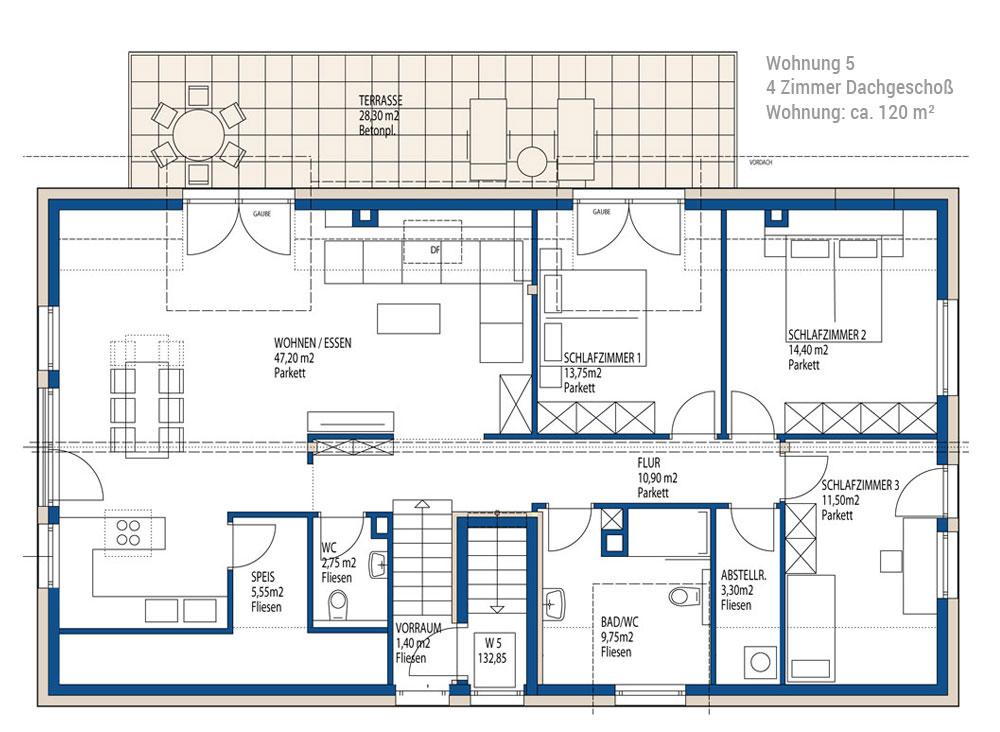 4 zimmer dachgescho wohnung in salzburg immobilien sch dingerimmobilen sch dinger salzburg. Black Bedroom Furniture Sets. Home Design Ideas